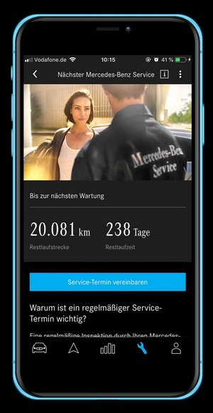 Mercedes me Adapter App